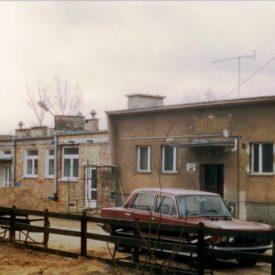 Budynek schroniska od frontu