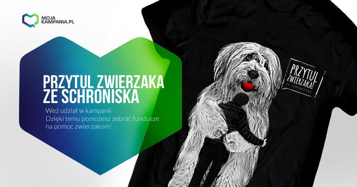 Przytul zwierzaka… na koszulce