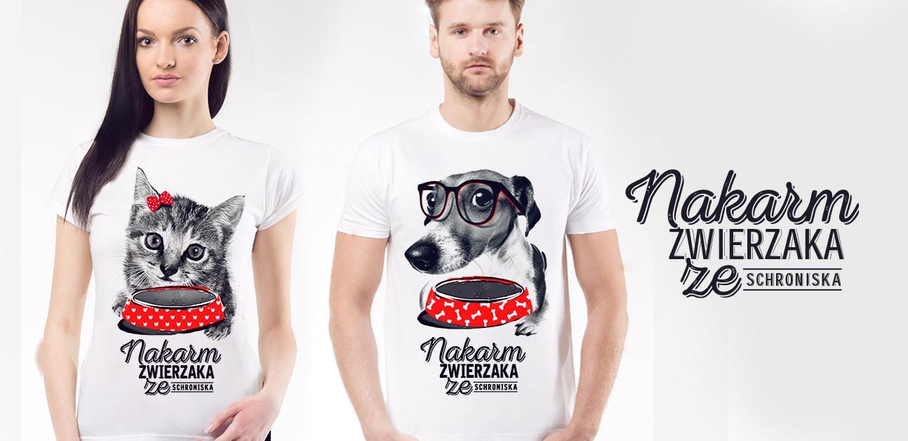 Kup koszulkę, nakarm zwierzaka