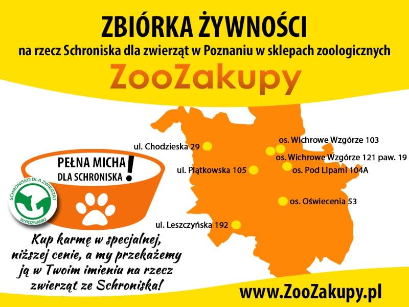 ZooZakupy.pl: dołącz do wielkiej zbiórki karmy