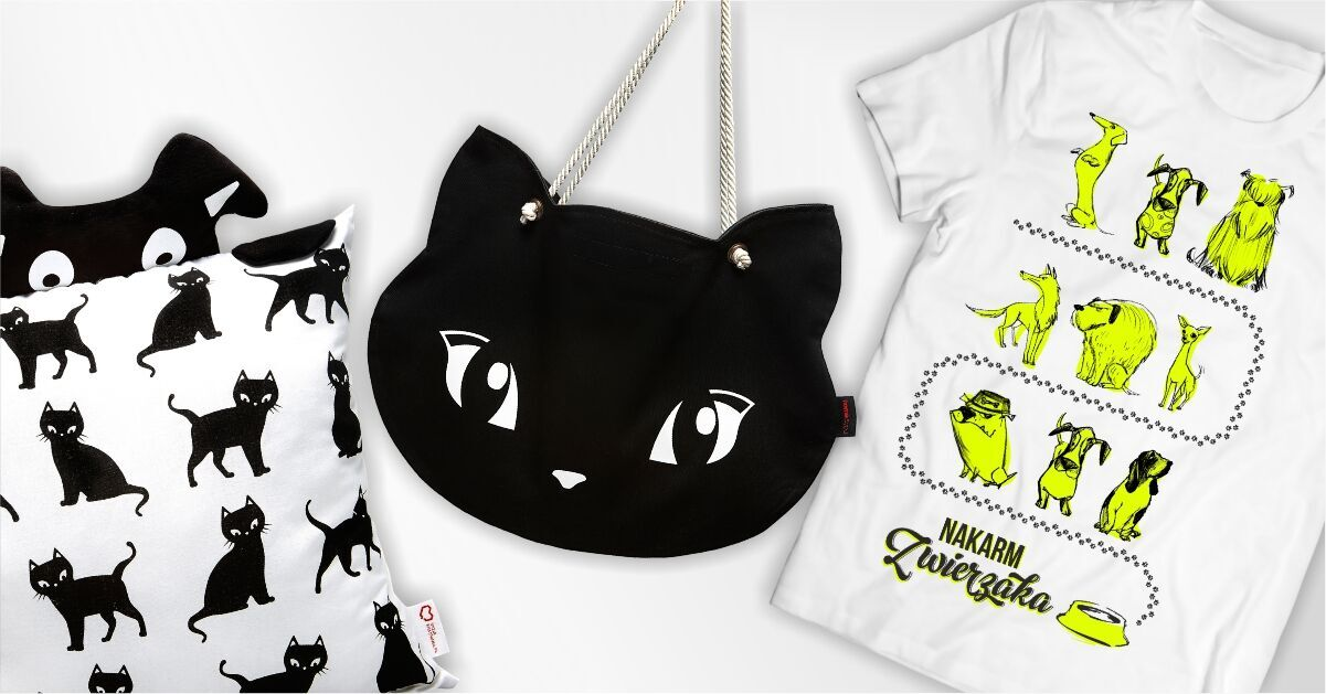 Kup koszulkę lub torbę, nakarm zwierzaka